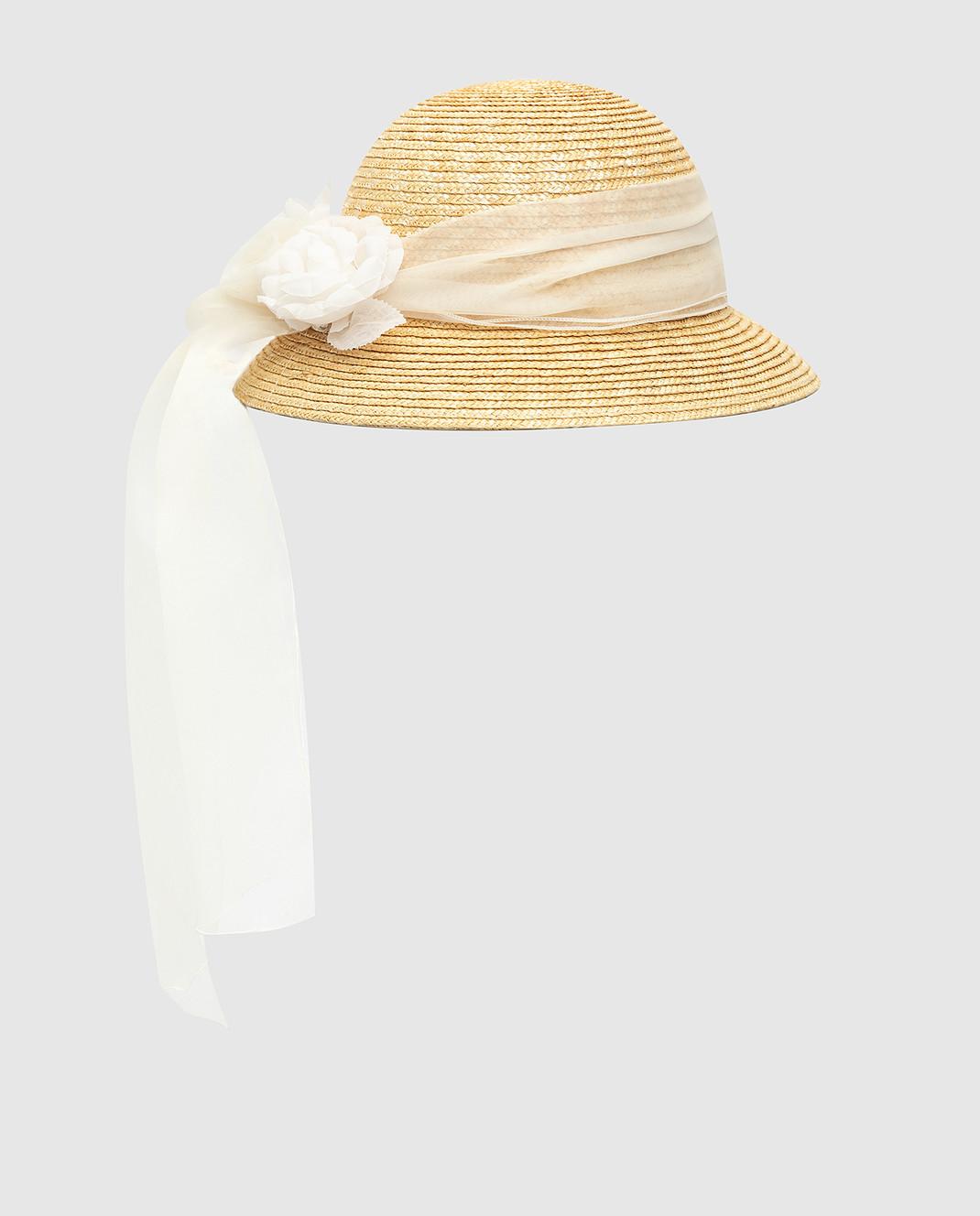 CAF Детская бежевая шляпа 020 изображение 2