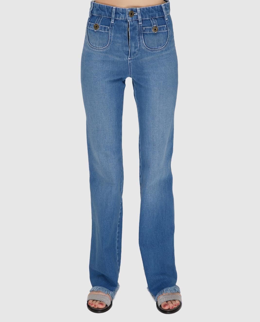 Chloe Голубые джинсы изображение 3