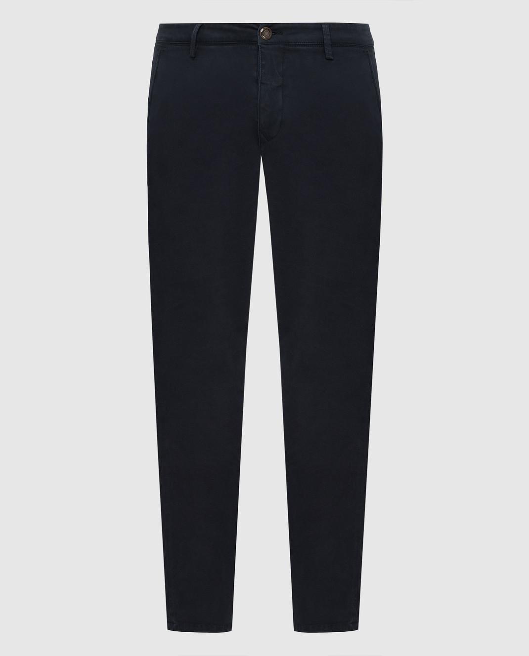 Fradi Темно-синие брюки изображение 1
