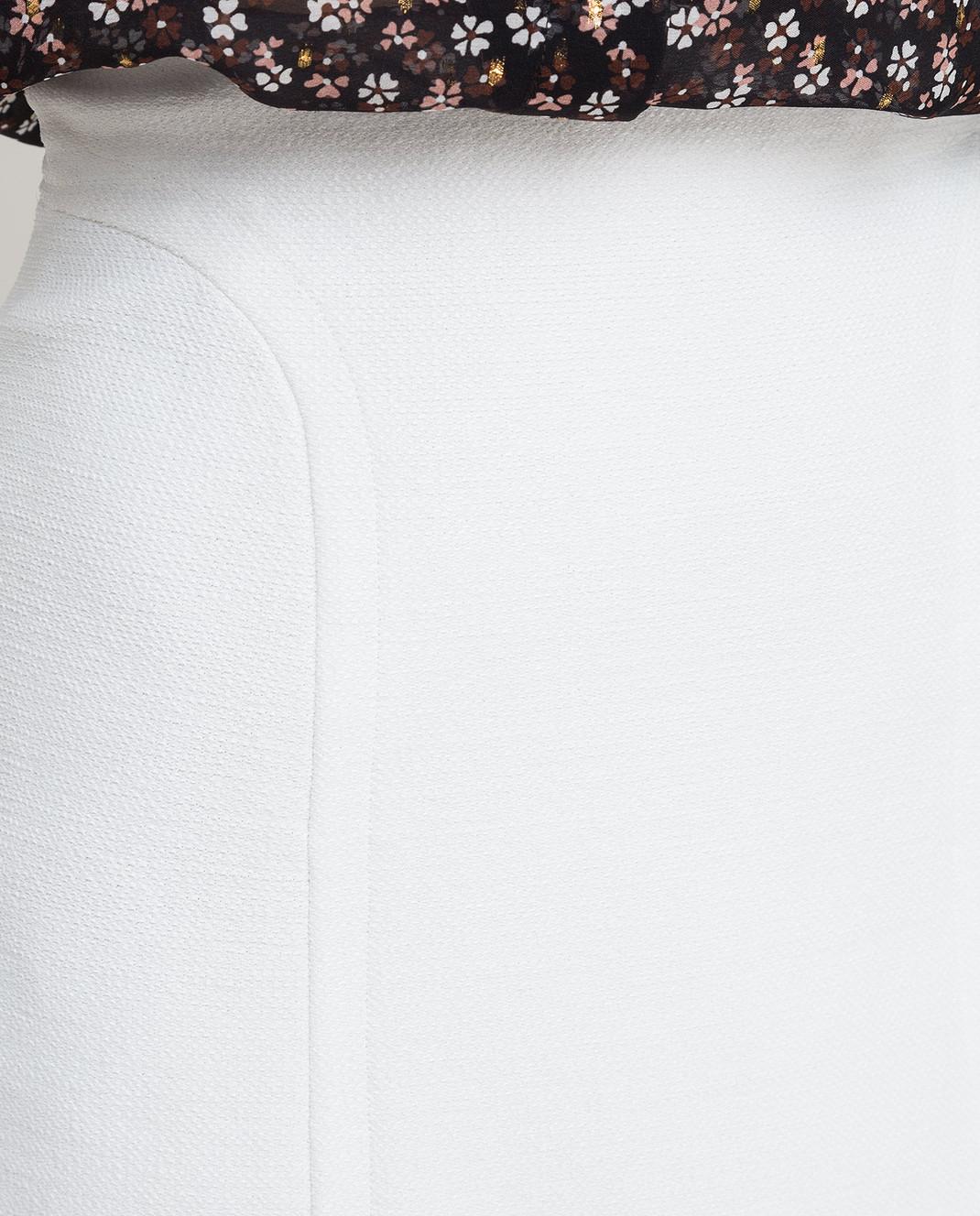 Azzedine Alaia Белая юбка 6E9J174CM220 изображение 5