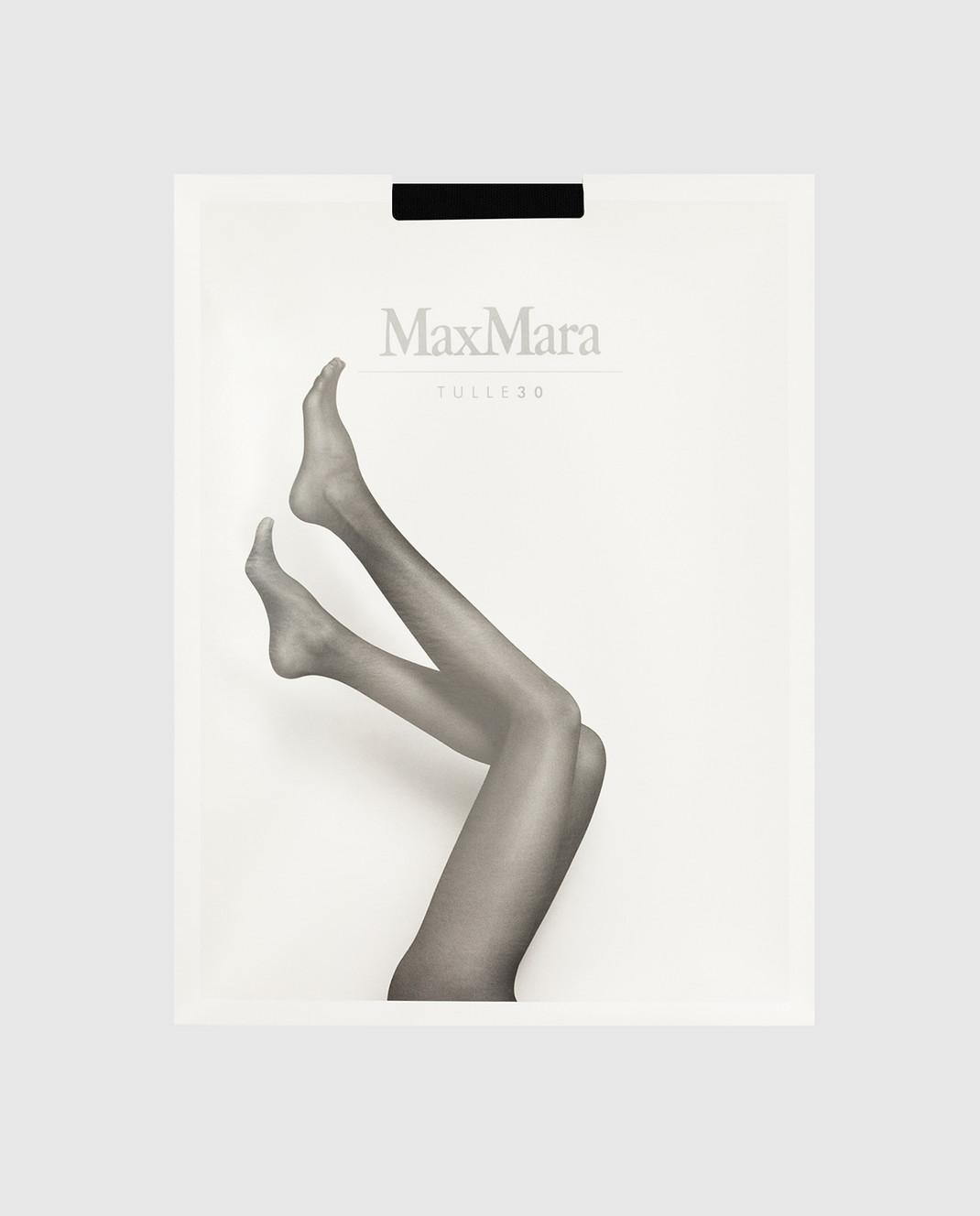 Max Mara Черные колготы 30 ден изображение 1