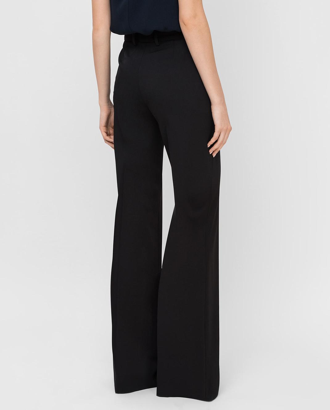 Roberto Cavalli Черные брюки из шерсти DWT211 изображение 4
