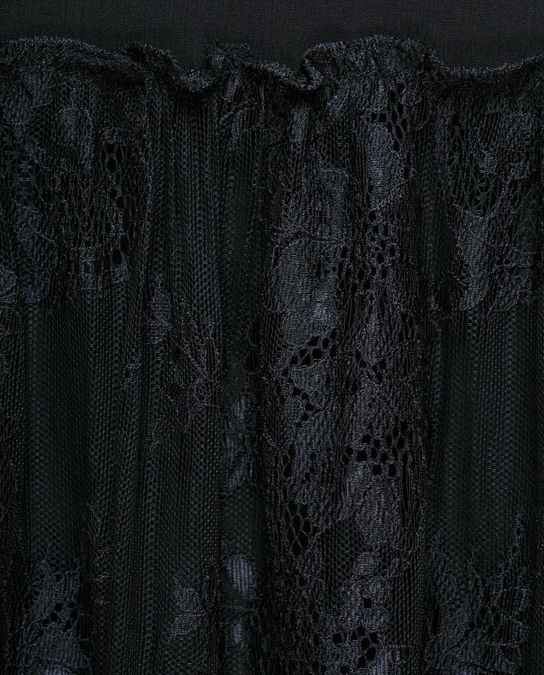 Ralph Lauren Черная юбка из шелка 211670984 изображение 5