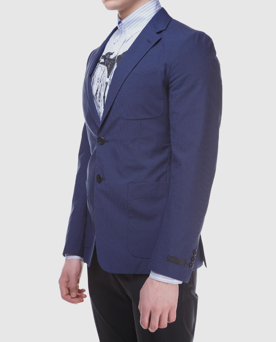 Prada Синий пиджак UGF003 изображение 3