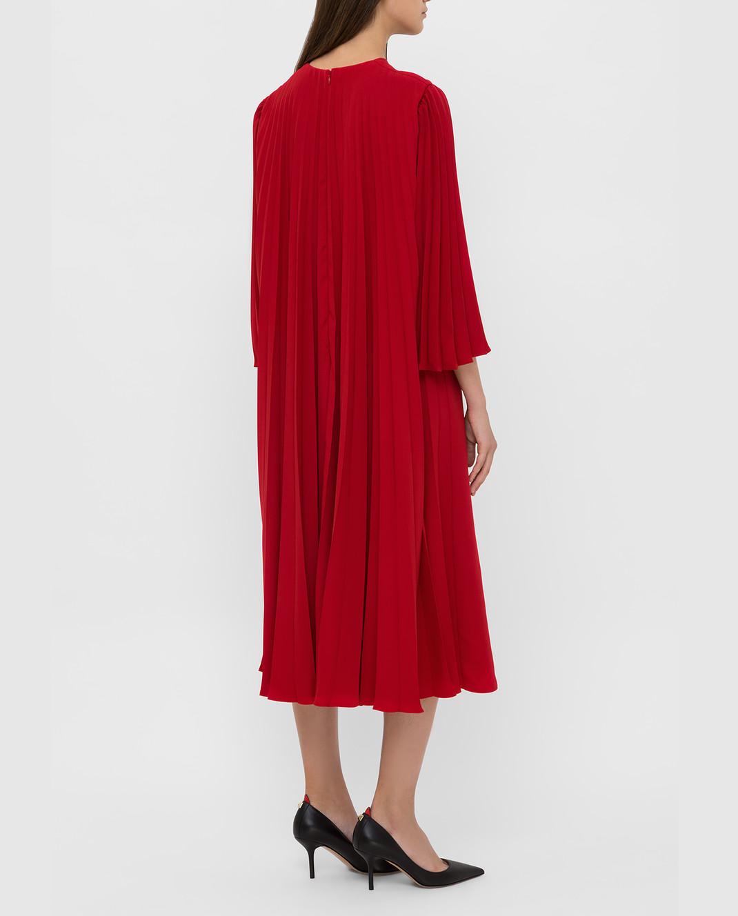 Valentino Красное платье SB3VAN104NK изображение 4