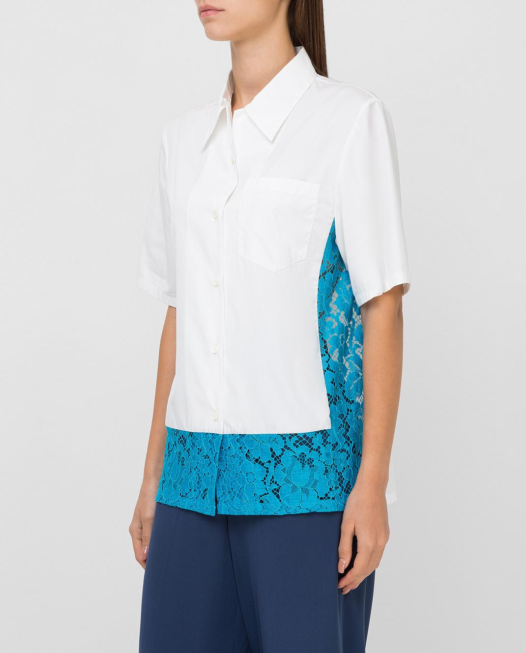 Prada Белая рубашка P461AU изображение 3
