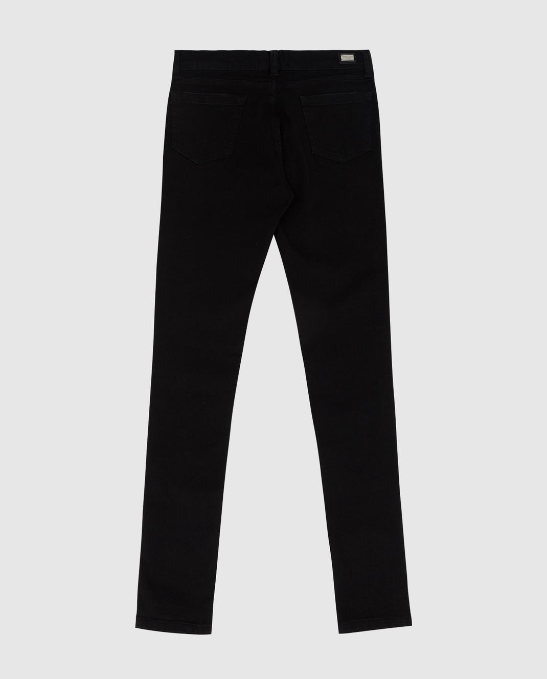 Philipp Plein Детские черные джинсы GDT01071216 изображение 2