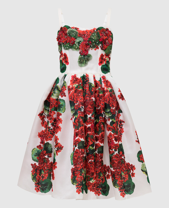 Светло-бежевое платье из шелка