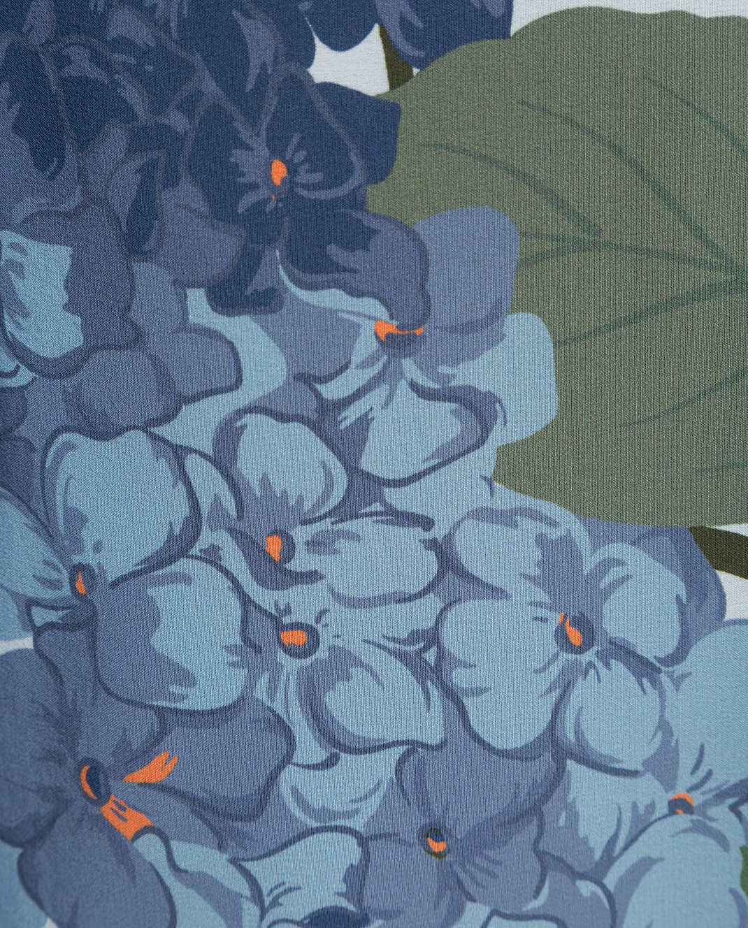 Valentino Светло-голубые палаццо из шелка TB3RB3L557D изображение 5
