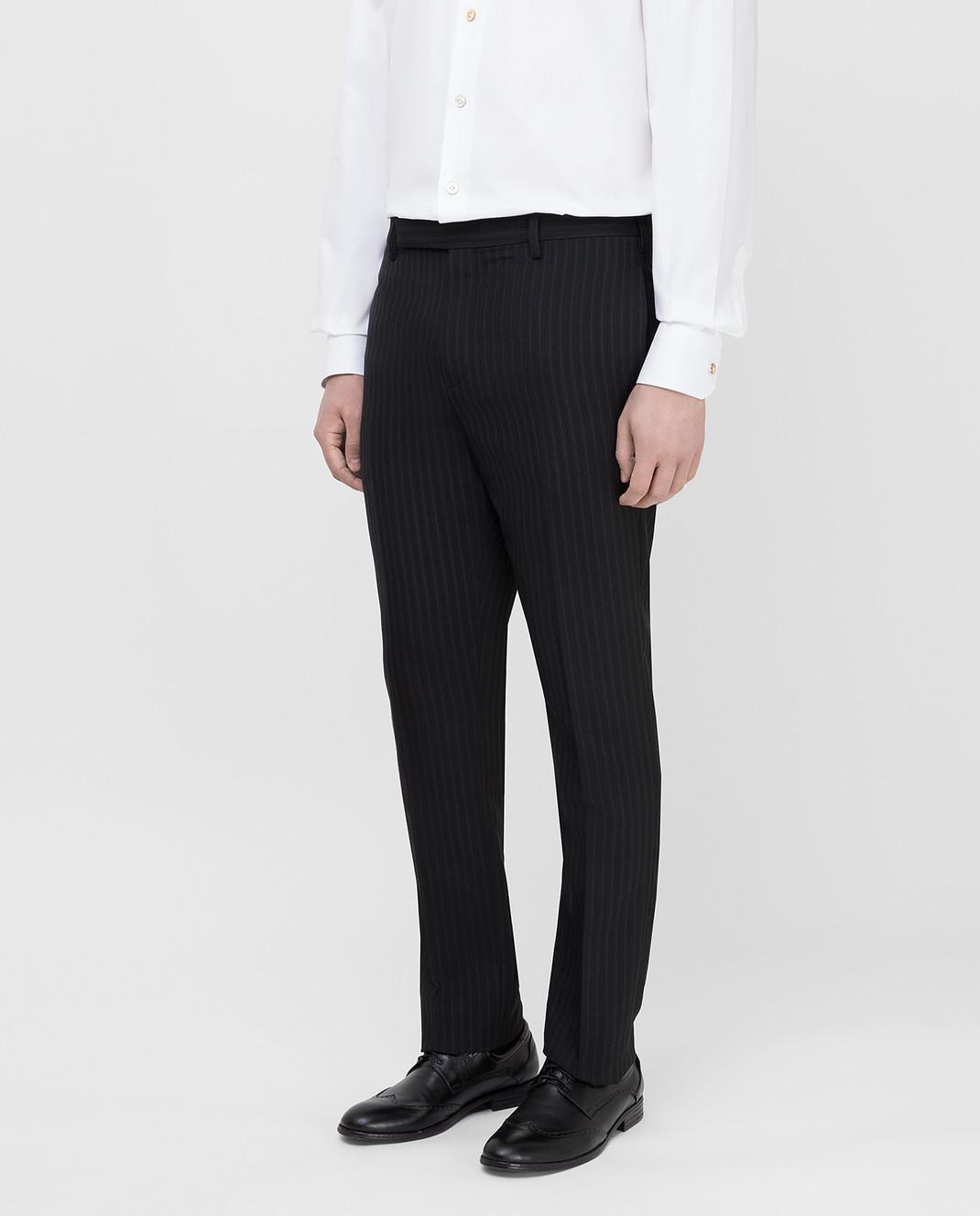 Saint Laurent Черные брюки 552560 изображение 3