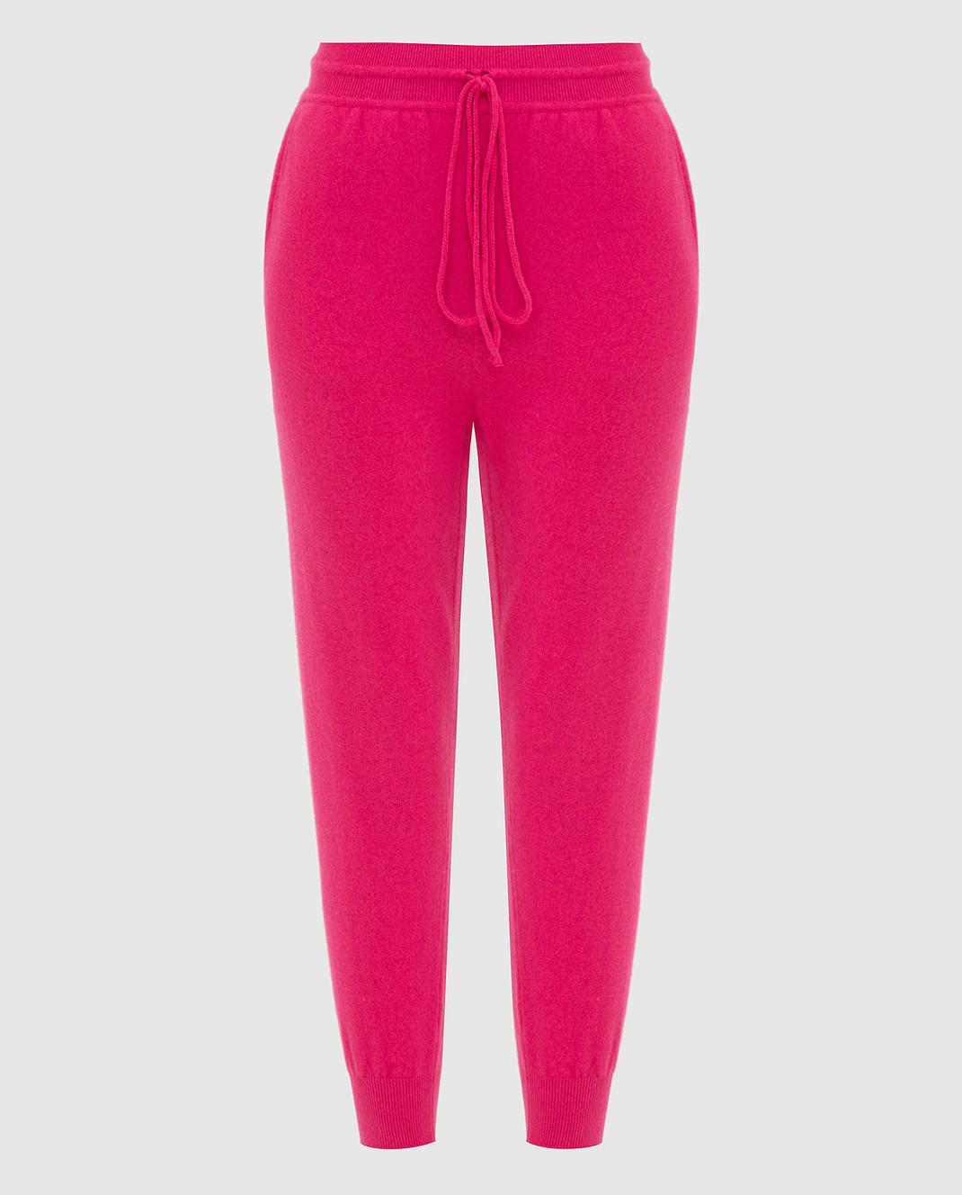 Tak.Ori Малиновые спортивные брюки изображение 1
