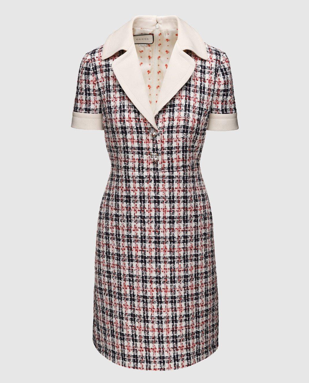 Gucci Твидовое платье 530704