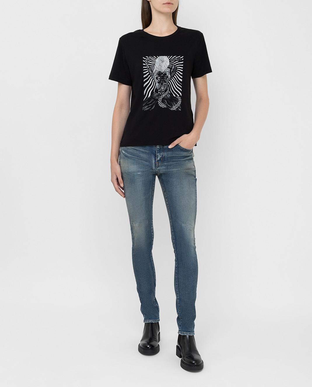 Saint Laurent Синие джинсы изображение 2