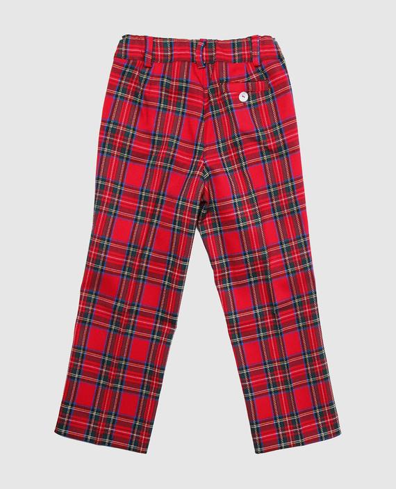 Красные брюки hover