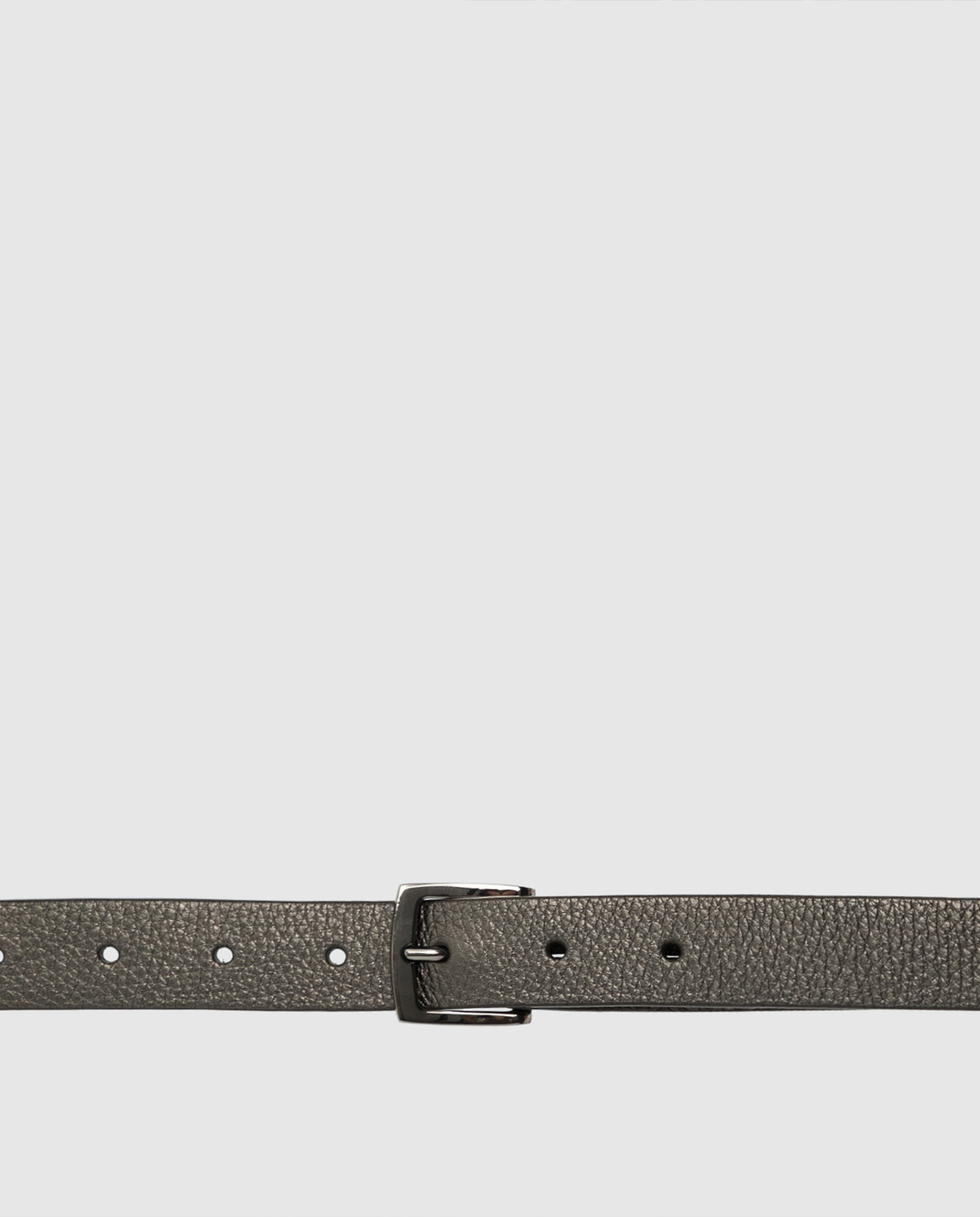 Brunello Cucinelli Зеленый кожаный ремень M0VENC220P изображение 4