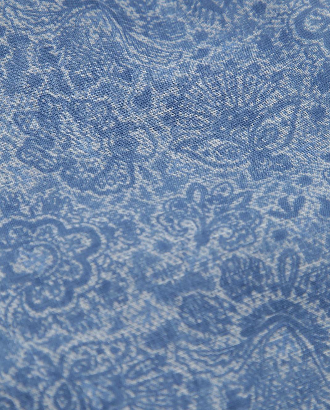 ISAIA Синий шарф изображение 3