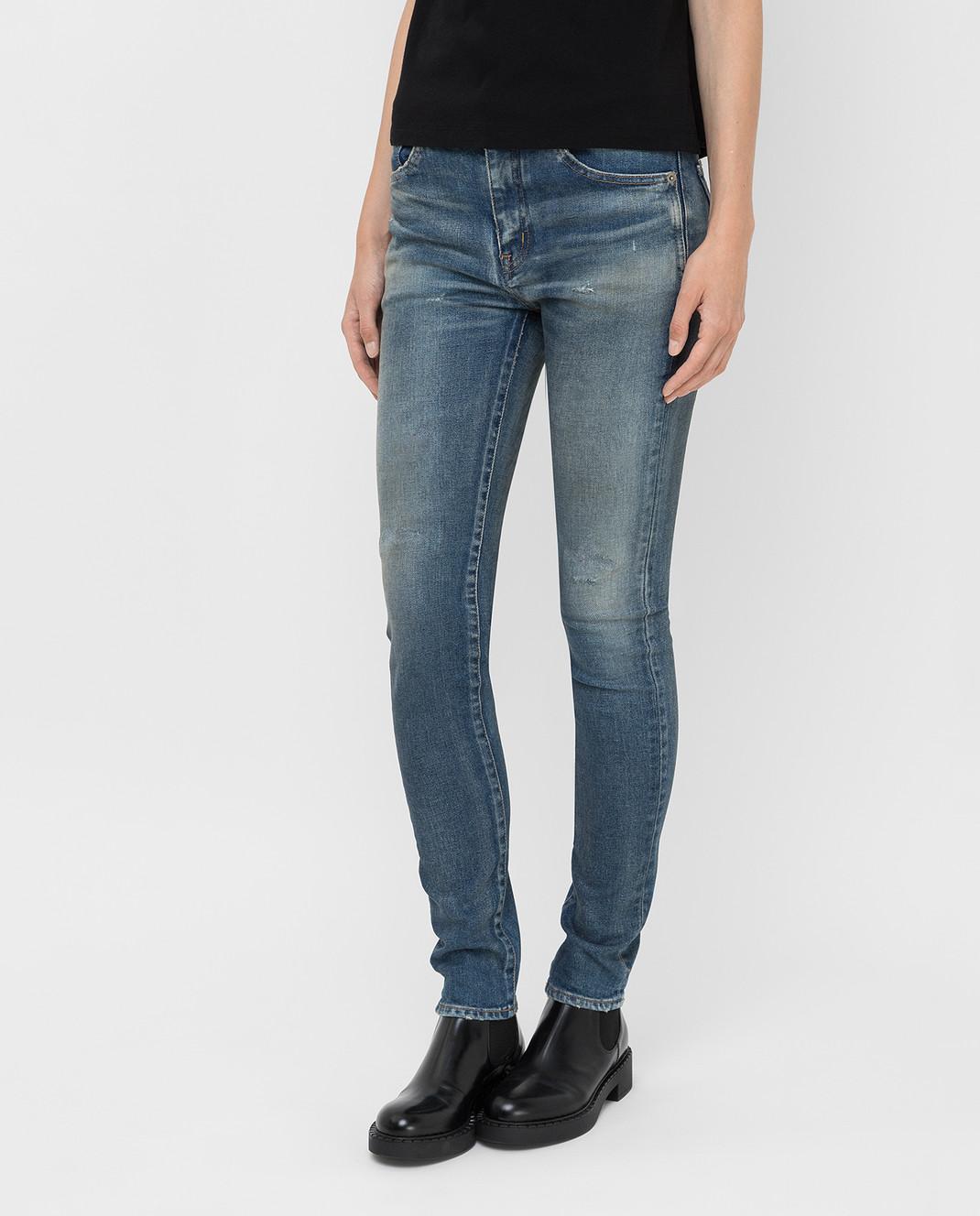 Saint Laurent Синие джинсы изображение 3