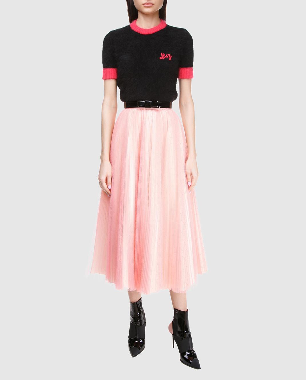 Philosophy di Lorenzo Serafini Розовая юбка V0126 изображение 2