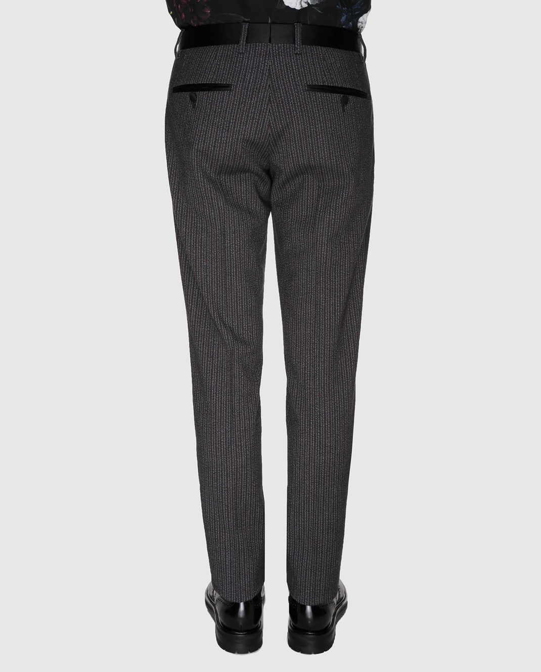 Dolce&Gabbana Бордовые брюки GYA5MTFRCB0 изображение 4
