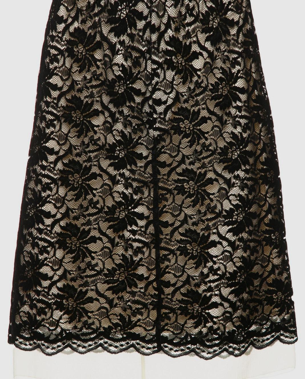 Marc Jacobs Золотистая юбка из кружева M4007156 изображение 2