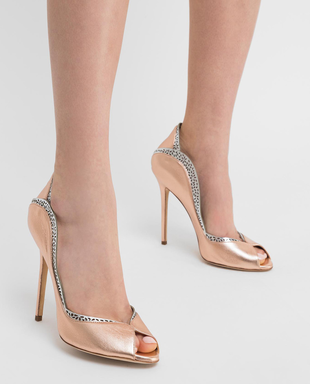 Cerasella Кожаные туфли DANAESPECCHIO изображение 2
