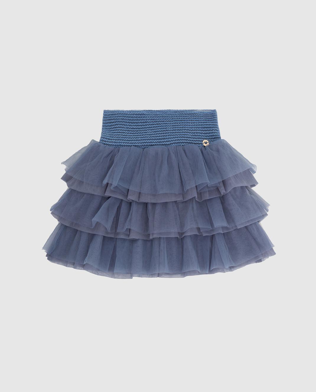 Twin Set Детская голубая юбка GA82JN610