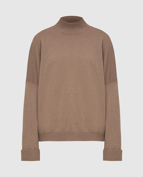 Бежевый свитер из кашемира