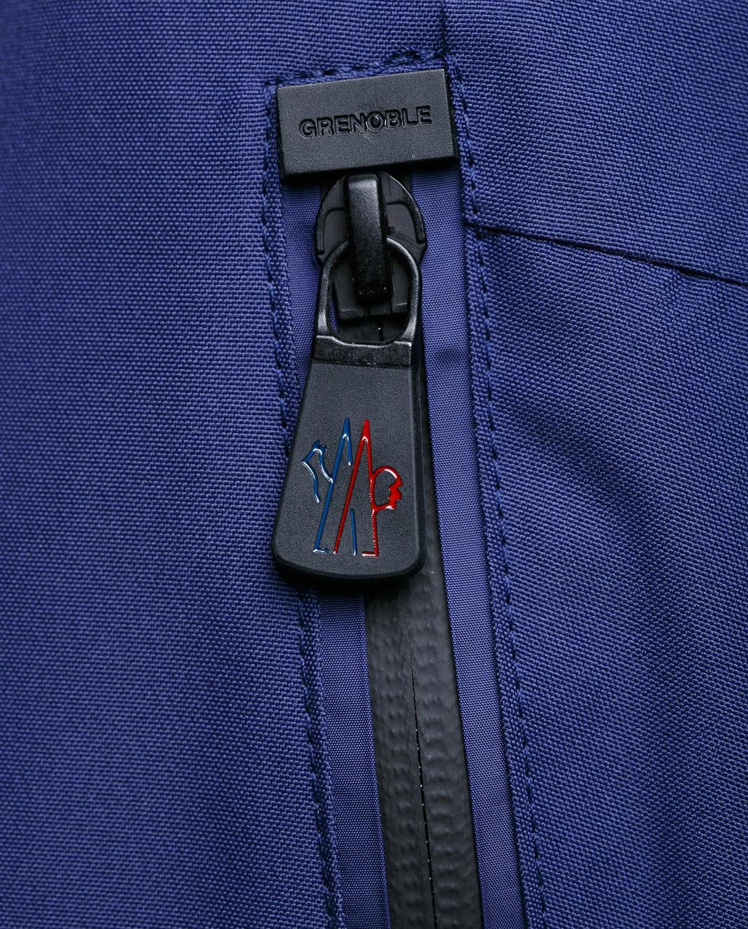 Moncler Grenoble Синие лыжные брюки 11410 изображение 5
