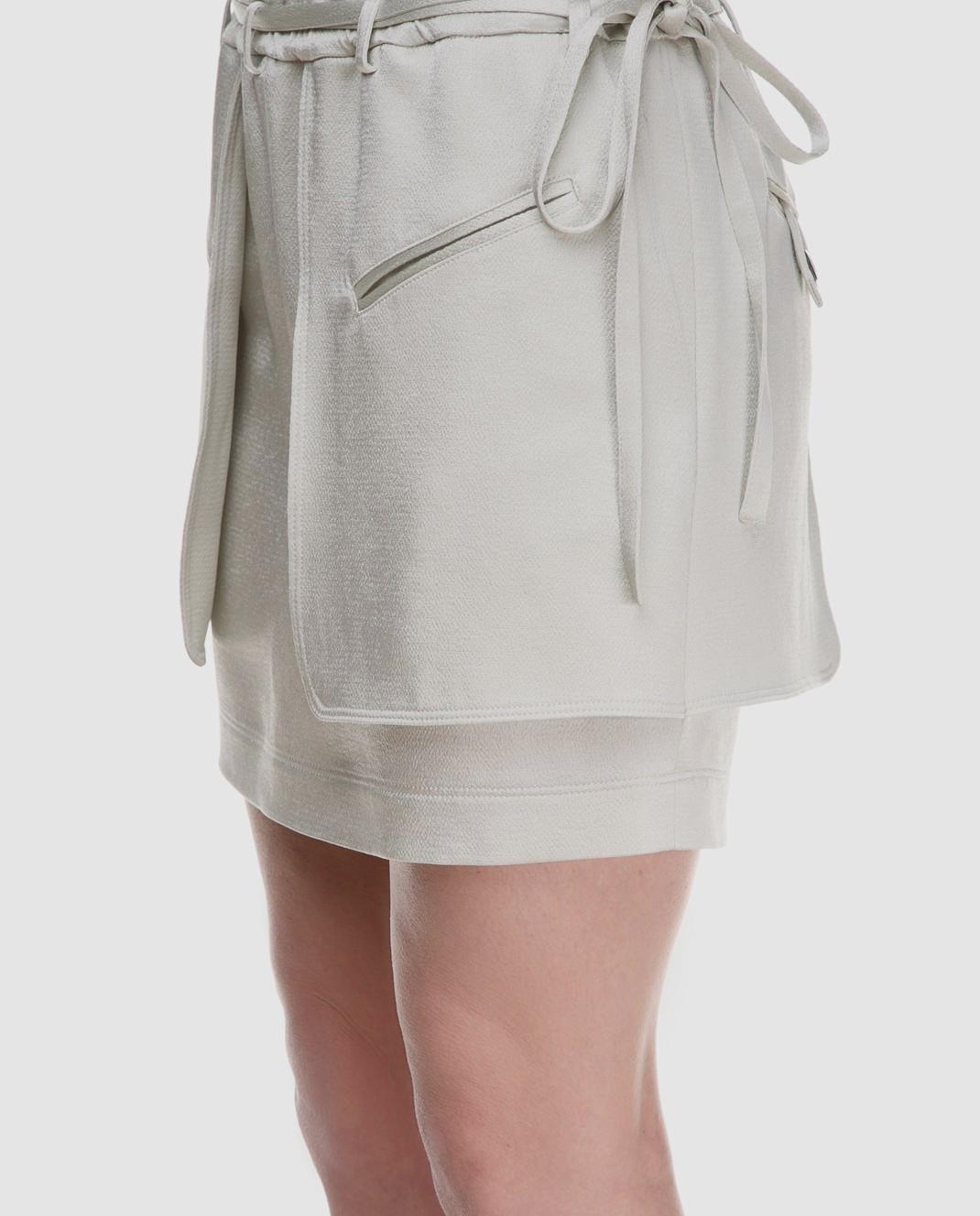 Valentino Светло-зеленая юбка PB0RA3K53H3 изображение 3