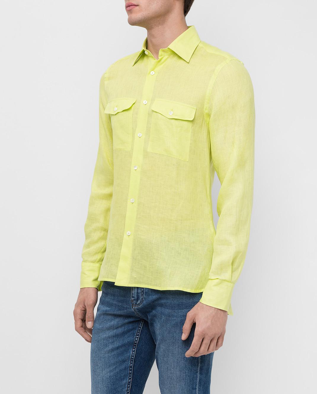 Ermanno Scervino Рубашка из льна изображение 3