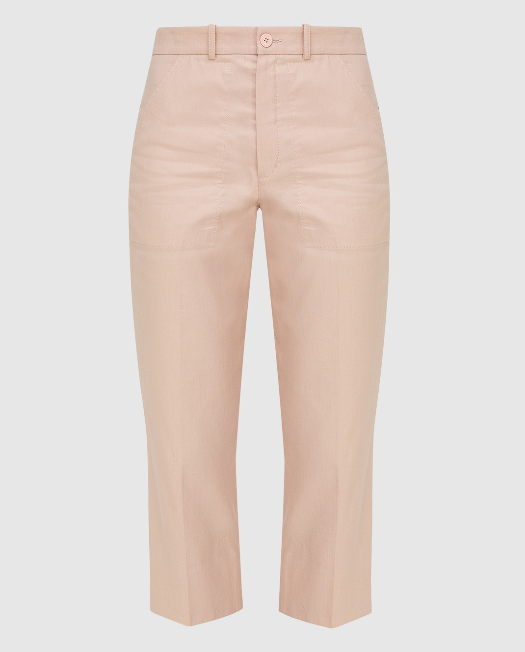 Chloe Светло-бежевые брюки 17EPA58