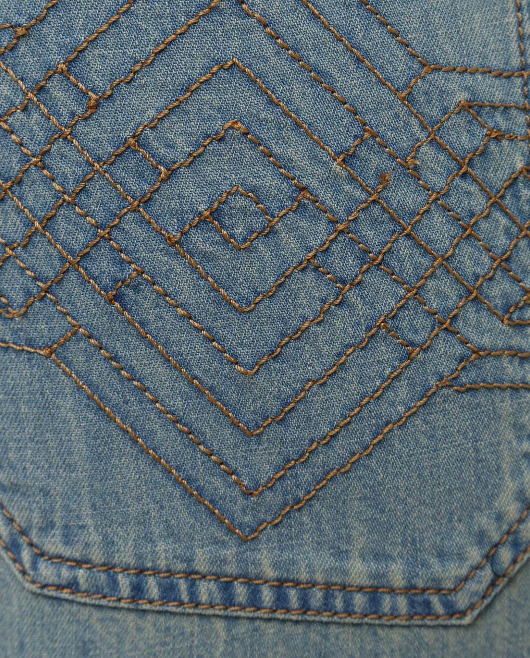 Bottega Veneta Голубые джинсы 545211 изображение 5
