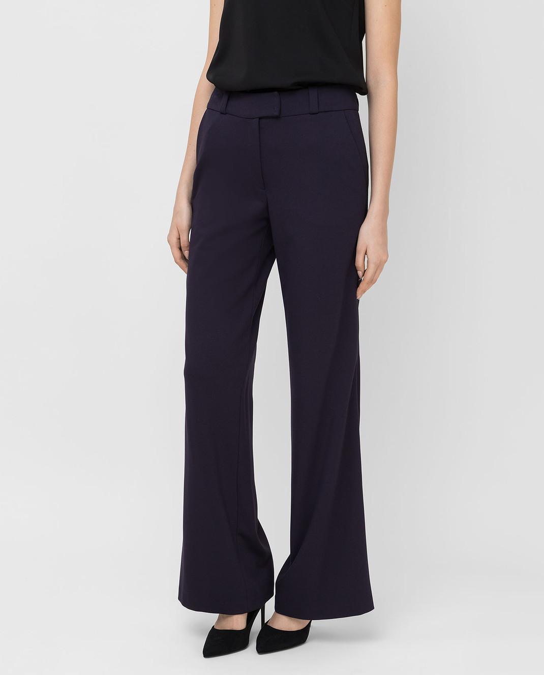 Maison Ullens Фиолетовые брюки PAN082 изображение 3