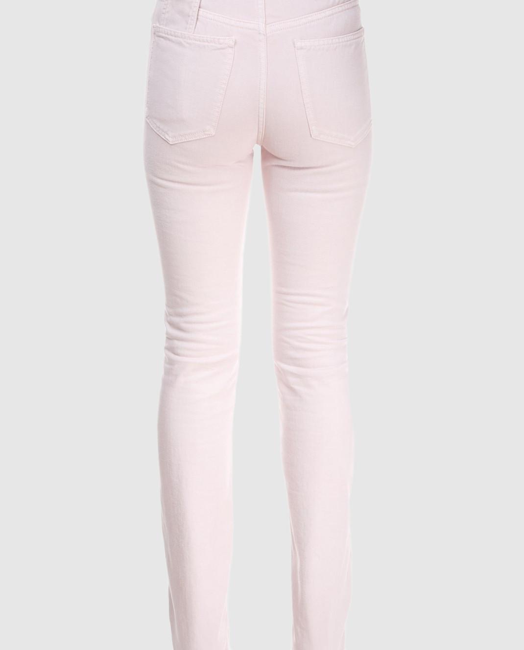 Valentino Пудровые джинсы PB0DD06J3WC изображение 5