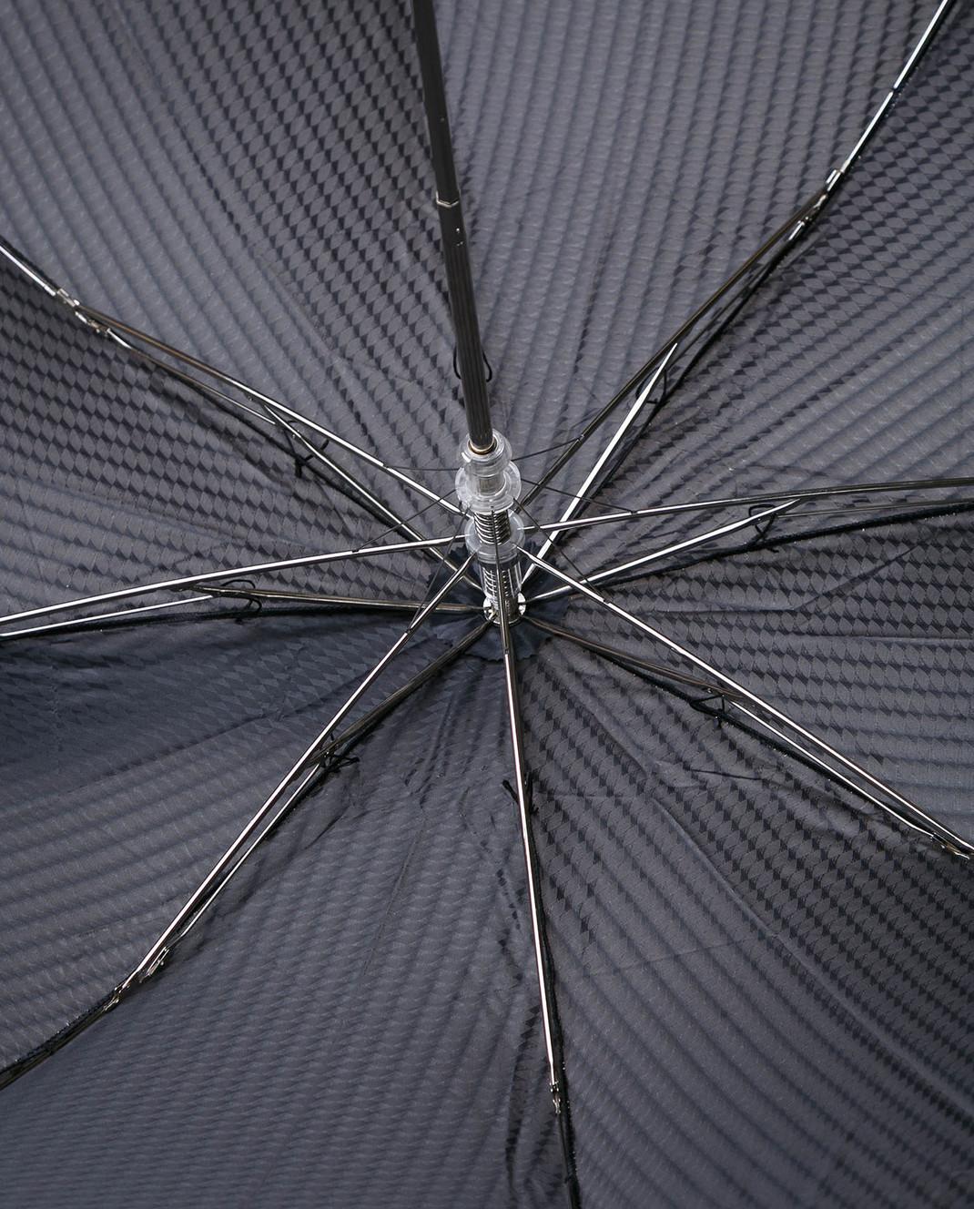 Pasotti Черный полуавтоматический зонт изображение 4