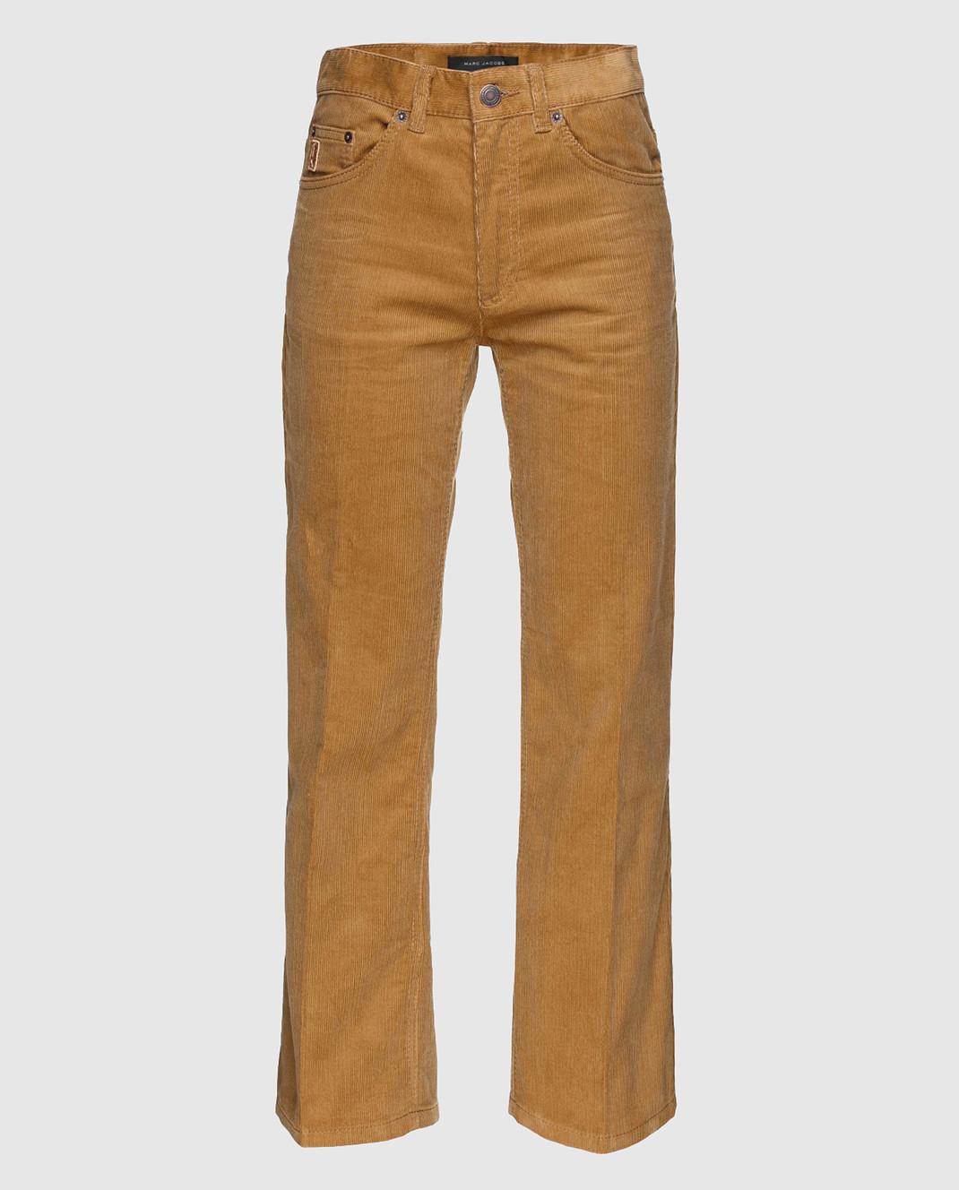 Marc Jacobs Рыжие вельветовые брюки M4007092