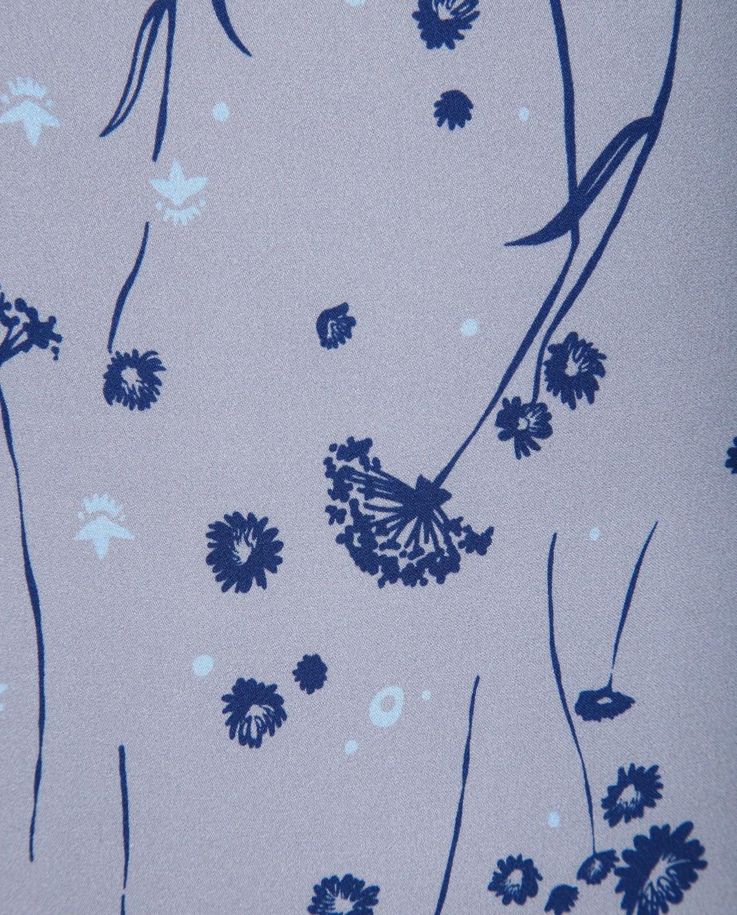 Alexander Terekhov Серое платье из шелка DE117 изображение 5