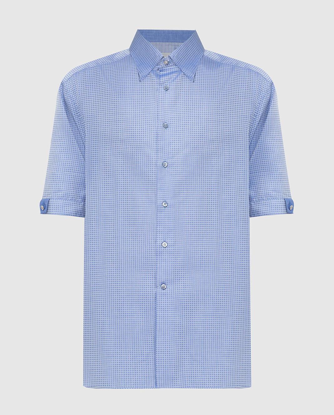 Stefano Ricci Голубая рубашка MC0020801553