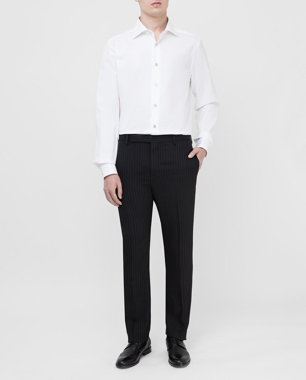 Saint Laurent Черные брюки 552560 изображение 2