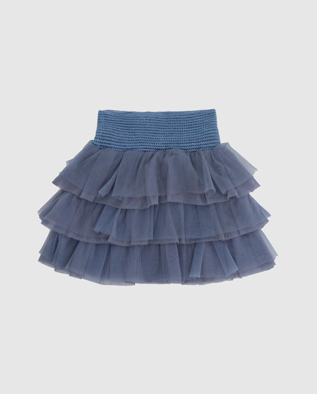 Twin Set Детская голубая юбка GA82JN610 изображение 2