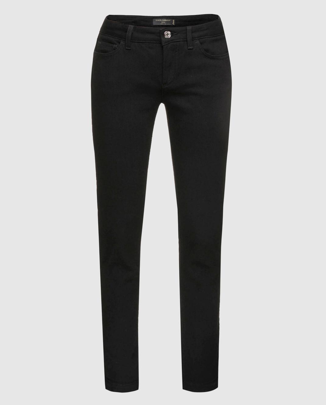 Dolce&Gabbana Черные джинсы FTAH7ZG8T27