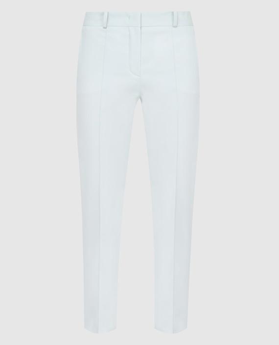 Мятные брюки