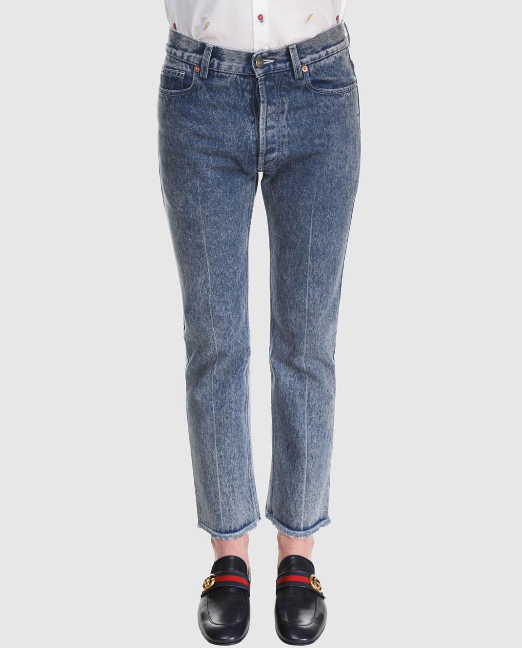 Gucci Синие джинсы 524365 изображение 3