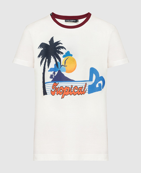 Светло-бежевая футболка