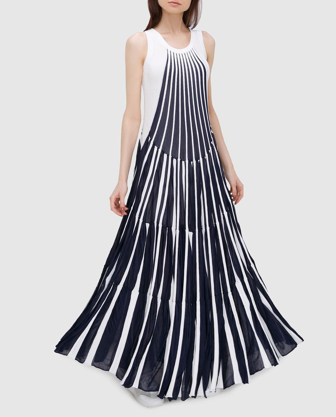 Chloe Синее платье изображение 2
