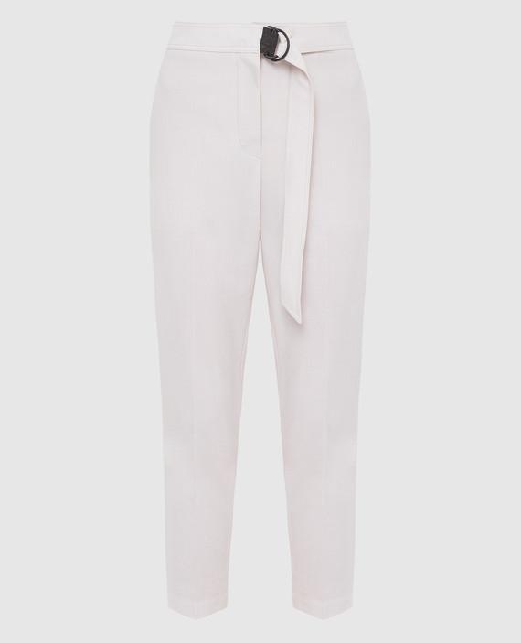 Светло-бежевые брюки