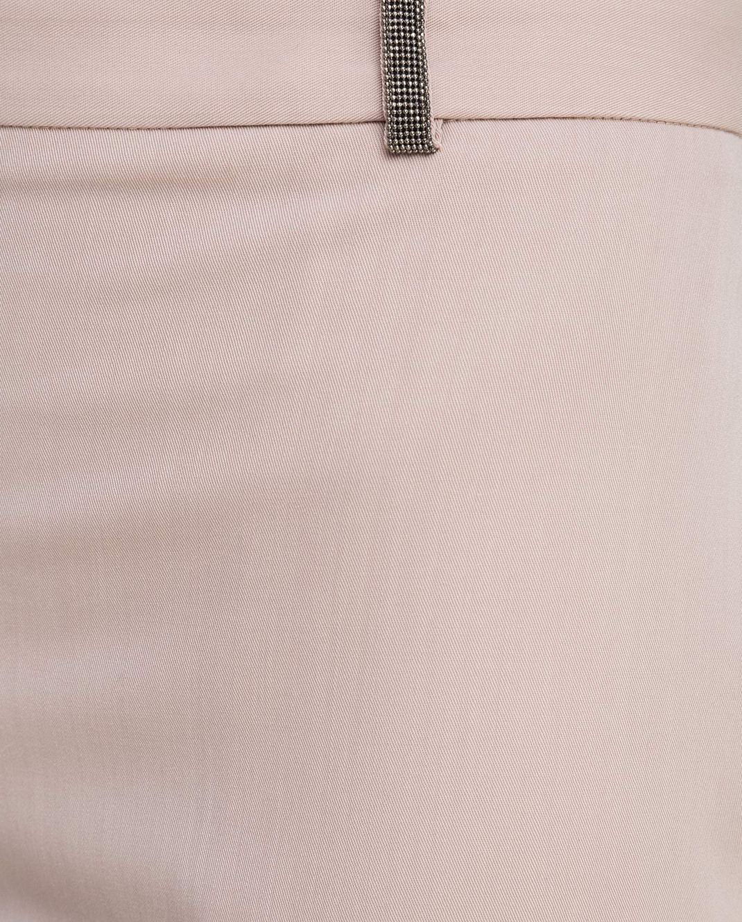 Fabiana Filippi Бежевые брюки из шерсти изображение 5
