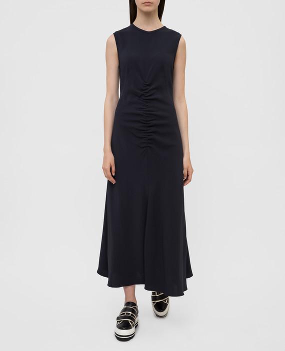 Темно-синее платье hover