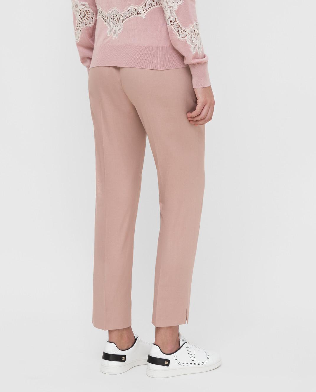 Dolce&Gabbana Розовые брюки FTAGNTFUFGD изображение 4