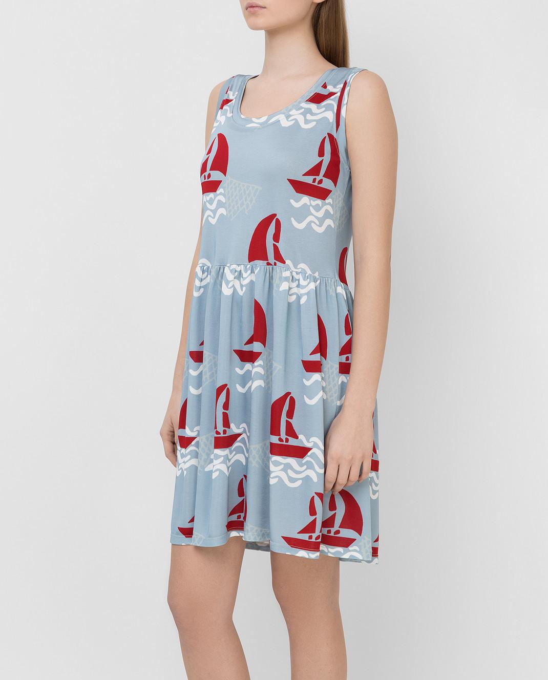 Tak.Ori Голубое платье DR010 изображение 3